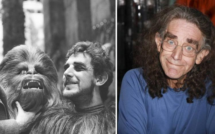 Chewbacca then and now