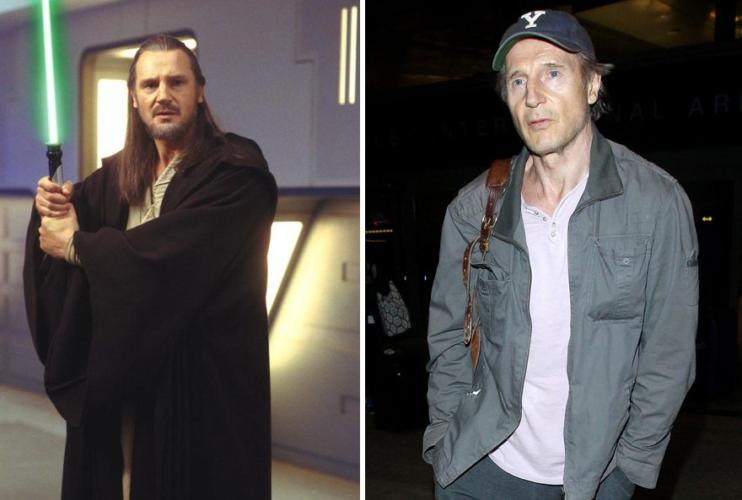 Qui-Gon Jinn then and now