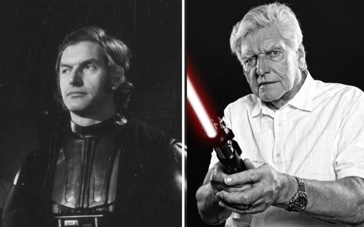 darth vader then and now