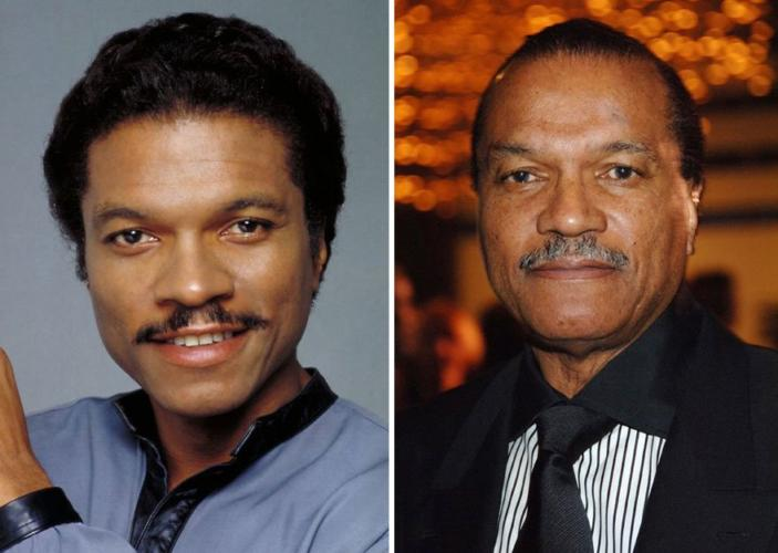 Lando Calrissian then and now