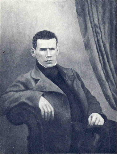 A picture of young Leo Tolstoy