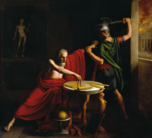 Archimedes is considered father of mathematics