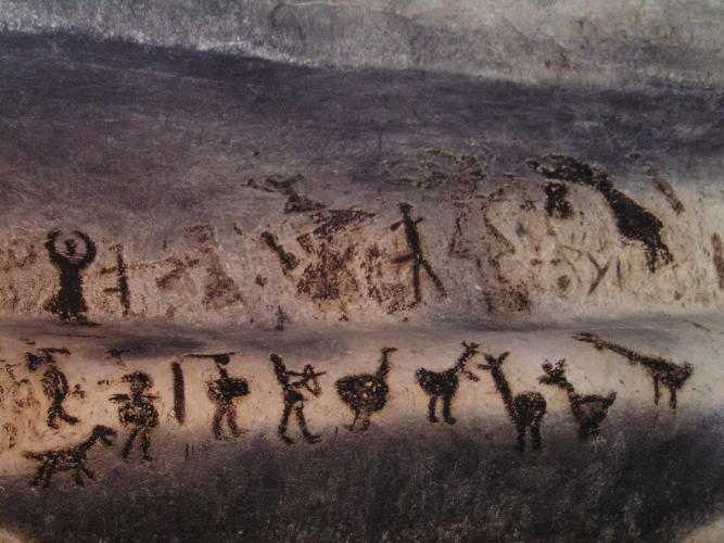 The Magura Cave paintings
