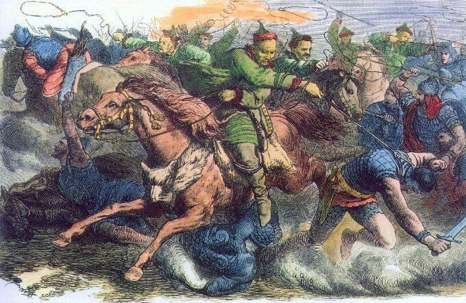 Attila the Hun was a fearsome leader who conquered most parts of Europe