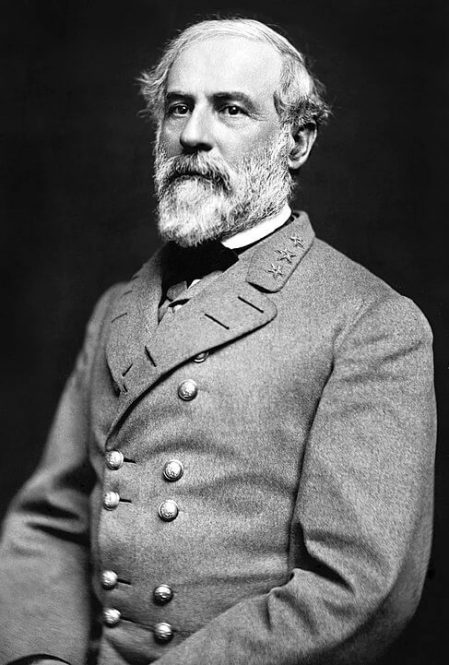 A picture of Confederate General Robert Edward Lee