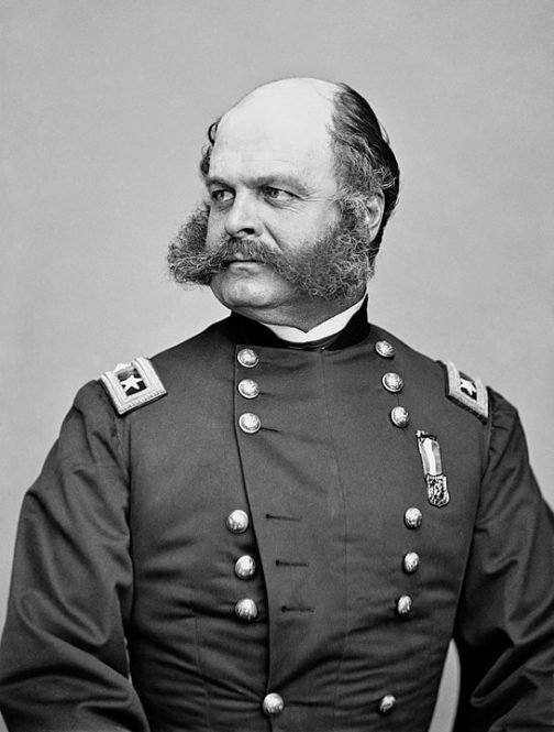 Picture of Union General Ambrose Burnside