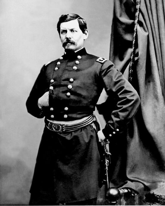 A picture of Union General George McClellan