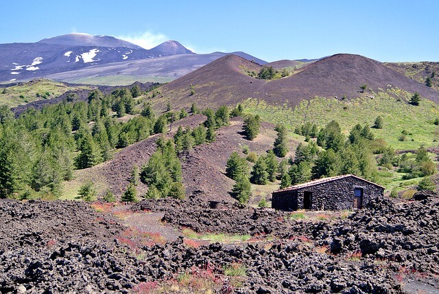 Picture of Mount Etna environment
