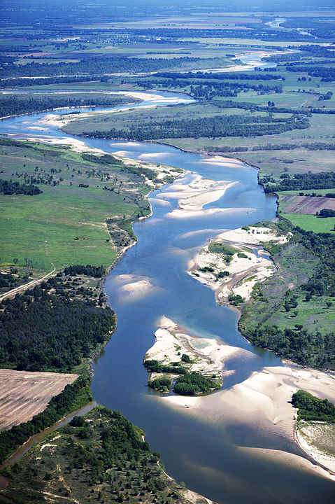 Overview picture of the Red River of the South